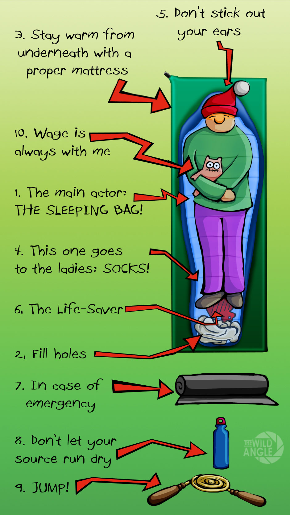 10 most useful tips to stay warm in your sleeping bag ...